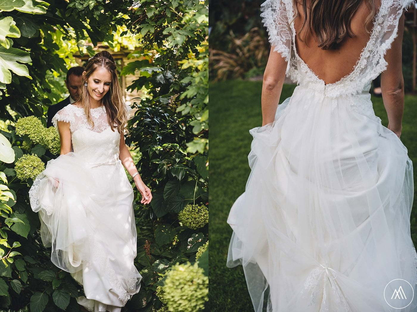 bride's dress Dewsall