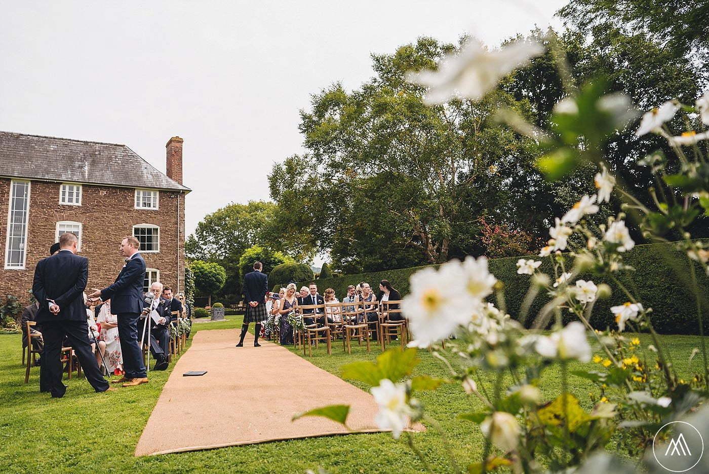 Dewsall Court Autumn Wedding