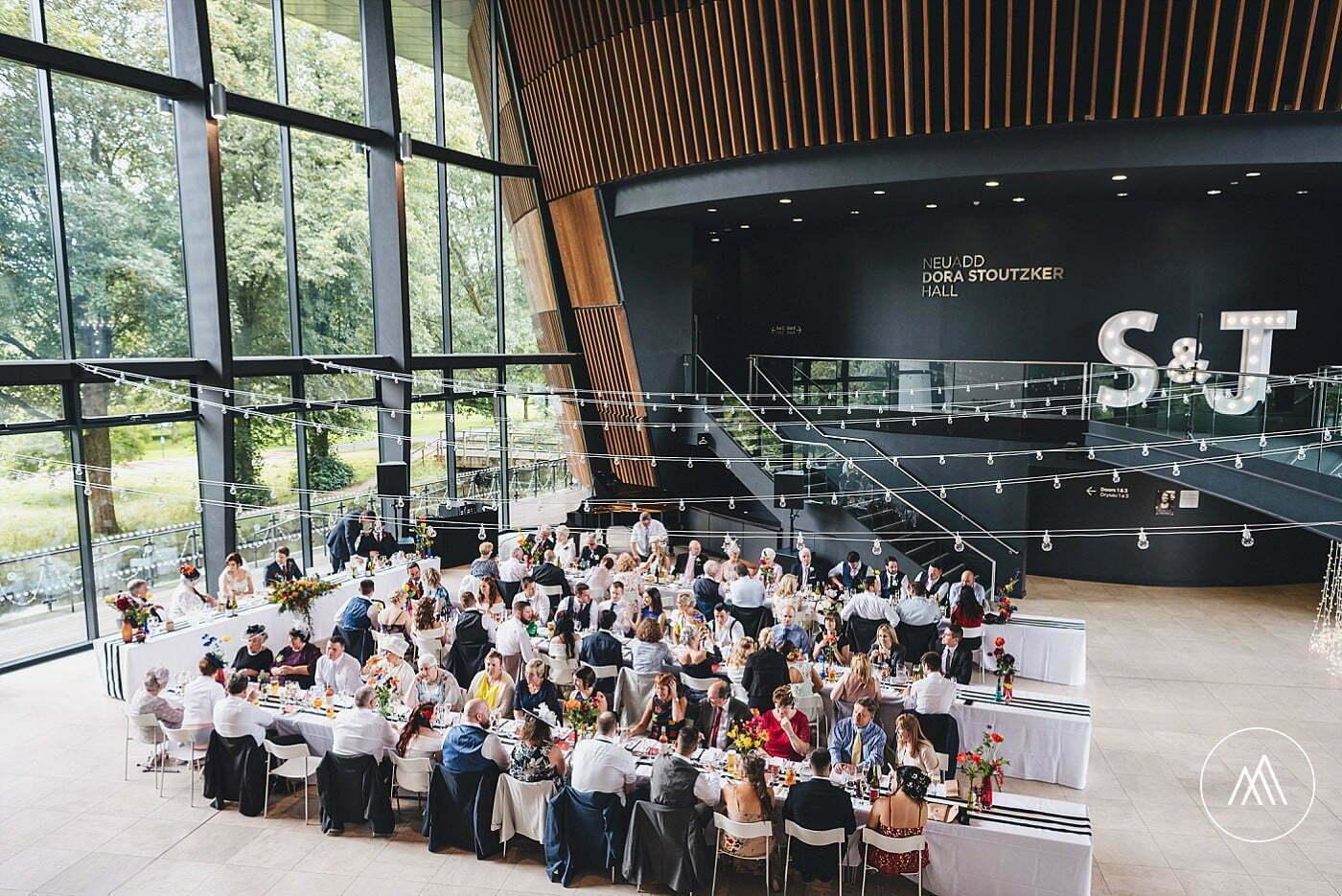 Royal Welsh College of Music & Drama wedding