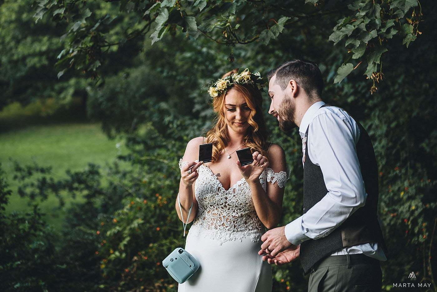 Boho bride Dewsall