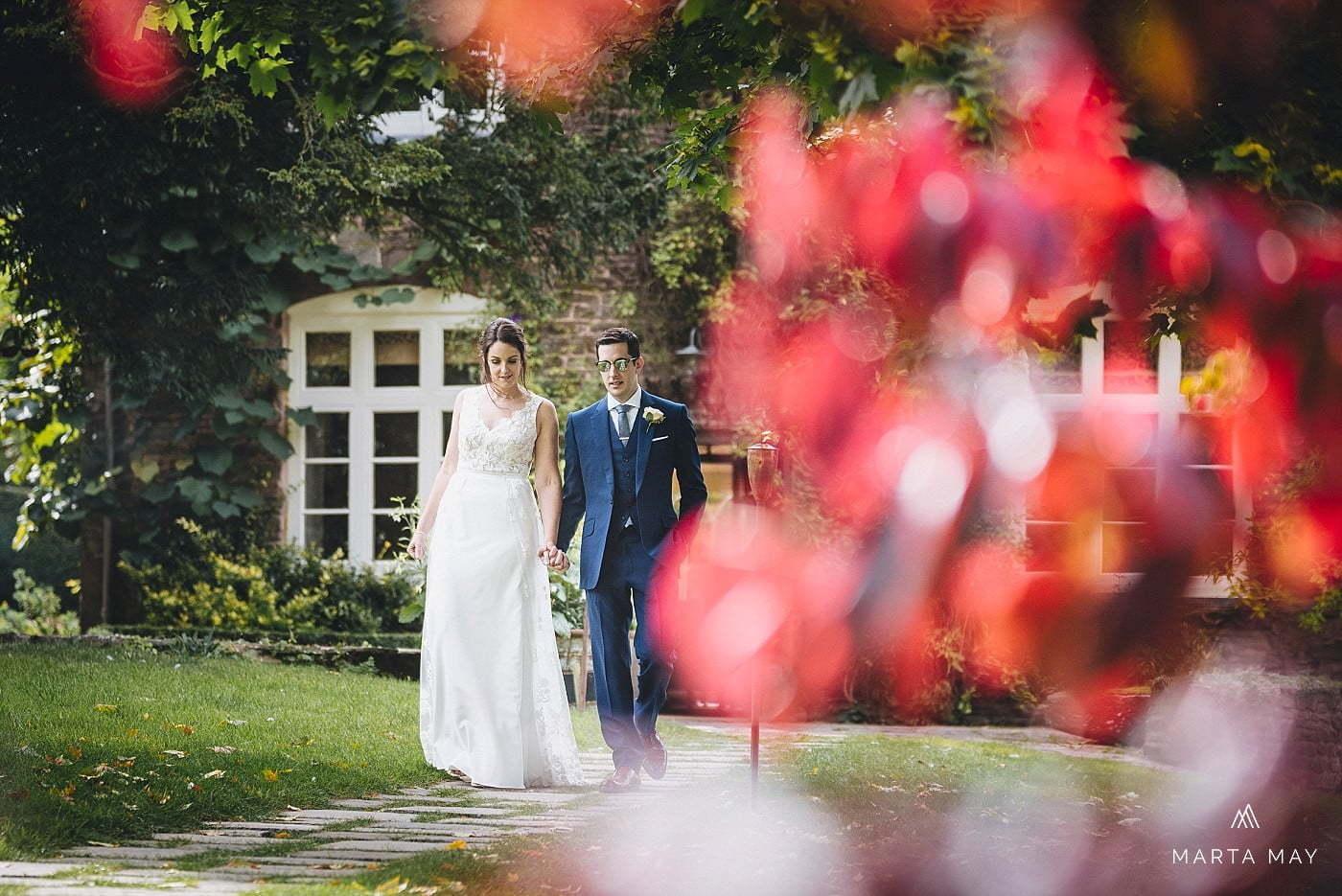 Bride groom Dewsall Court