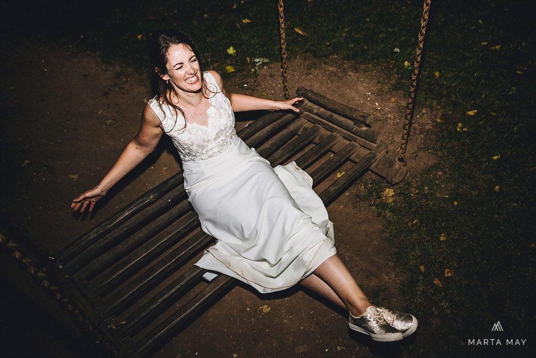 bride at Dewsall COurt