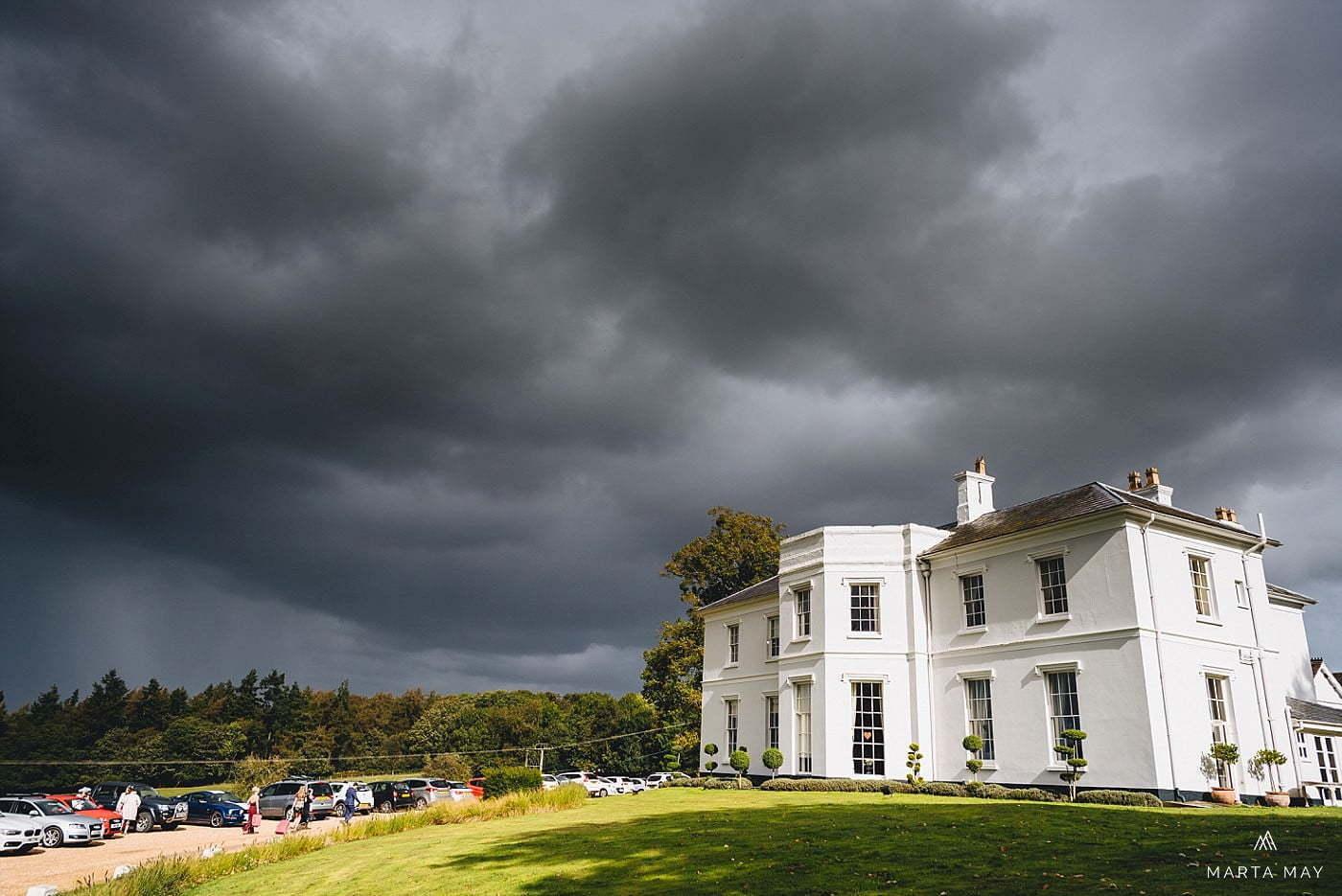 Brooks Country House Pengethley wedding venue