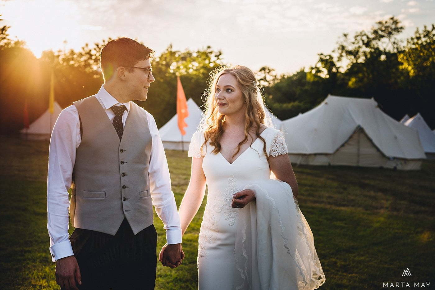 marquee wedding and glamping Cotswolds