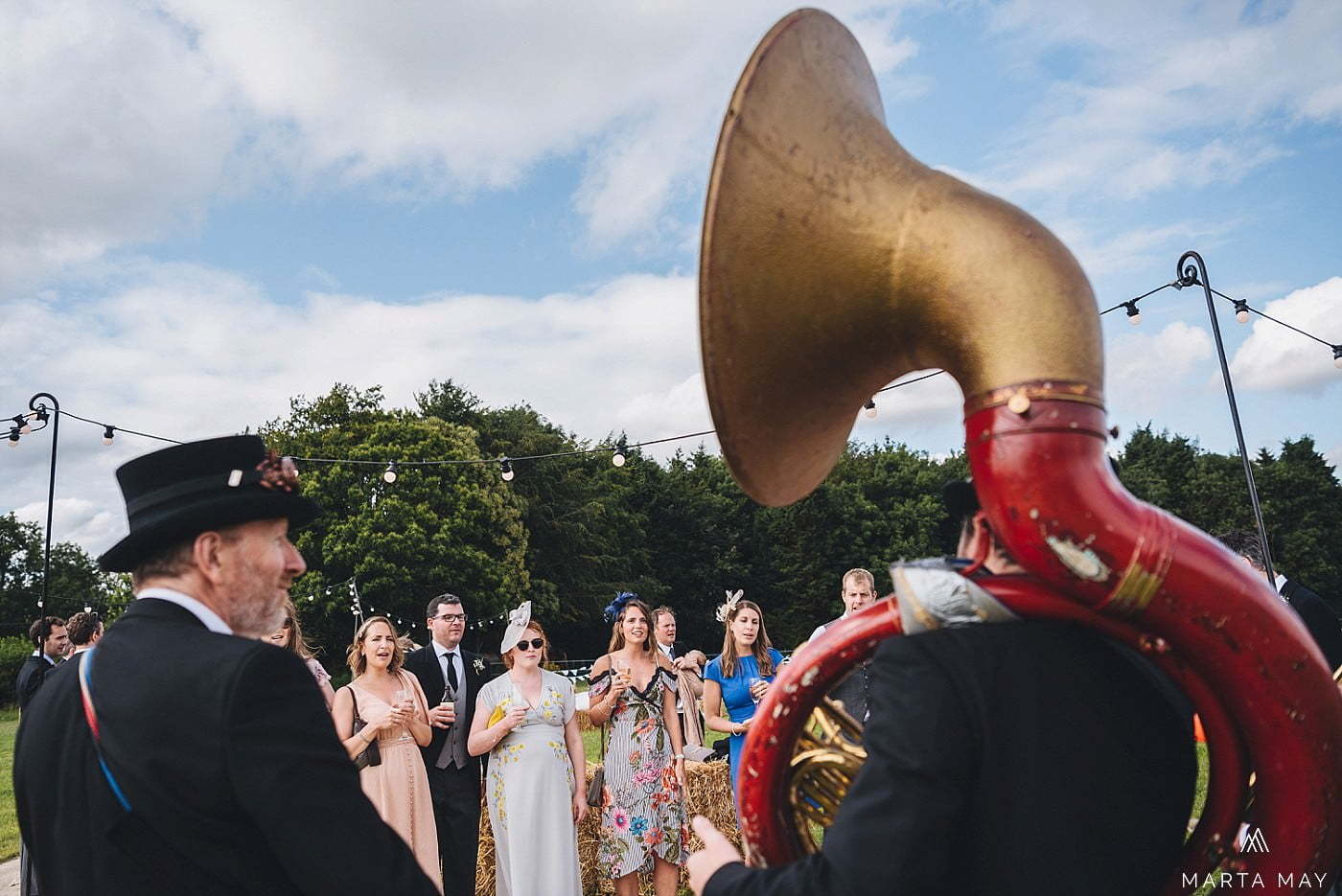 traditional countryside wedding