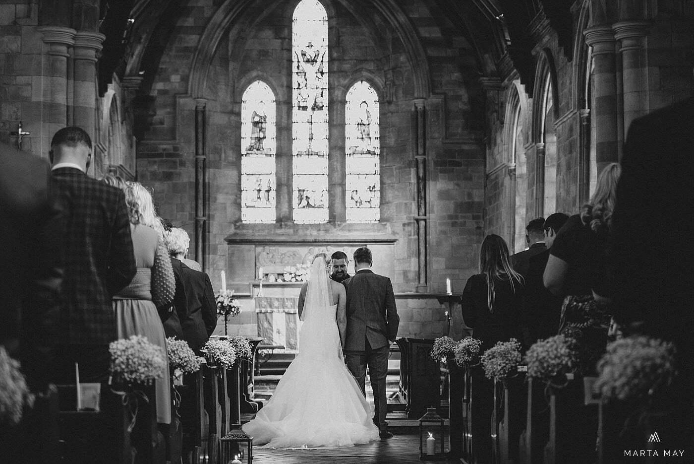 Alveley church ceremony