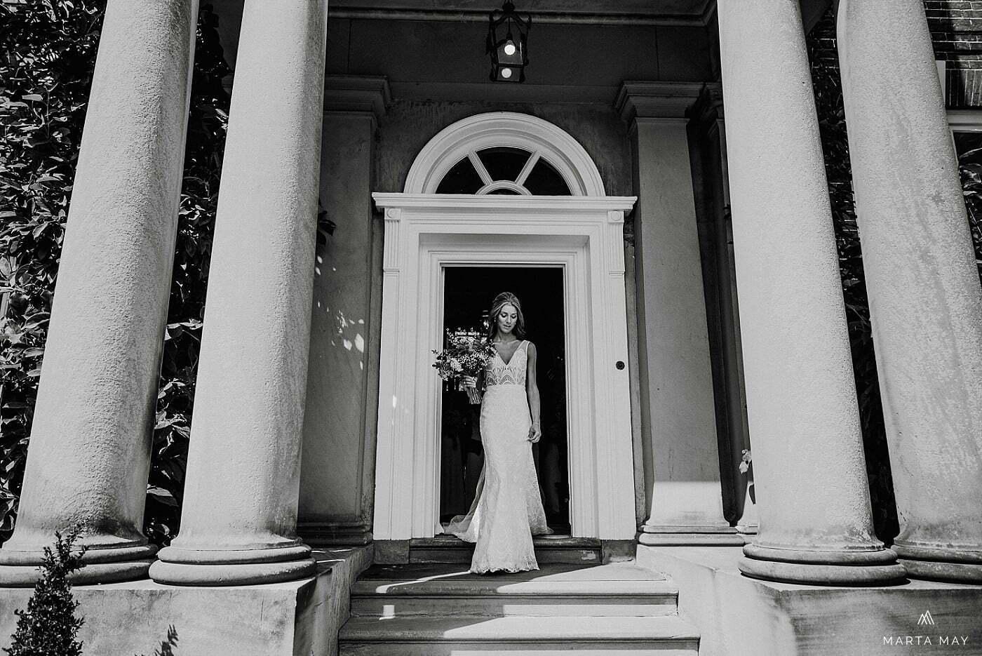 bride at Iscoyd Park