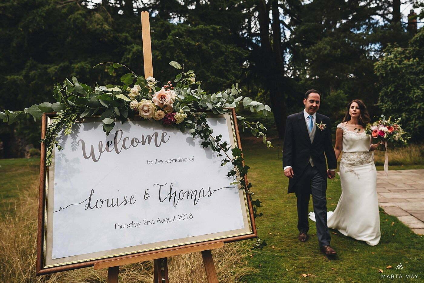 wedding photography Walcot Hall